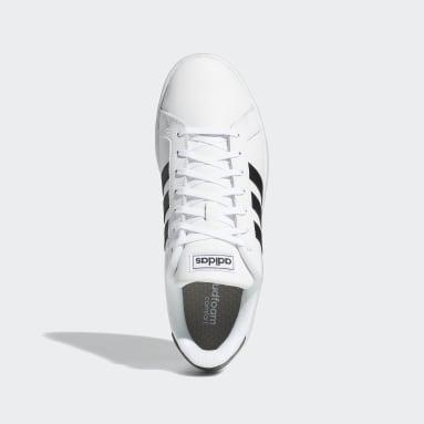 Tenis adidas Grand Court Blanco Hombre Essentials
