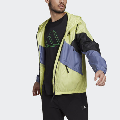 Giacca Back to Sport WIND.RDY Giallo Uomo City Outdoor