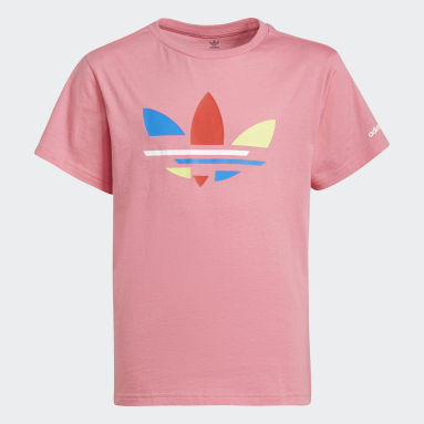 T-shirt adicolor Rosa Bambini Originals