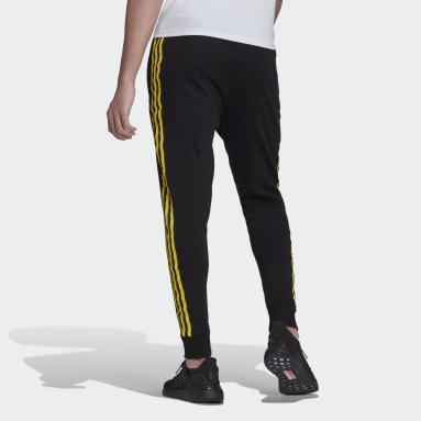 Men Football Black Manchester United Seasonal Special Warm Pants