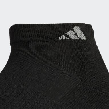 Men's Basketball Black Athletic Cushioned Low-Cut Socks 6 Pairs