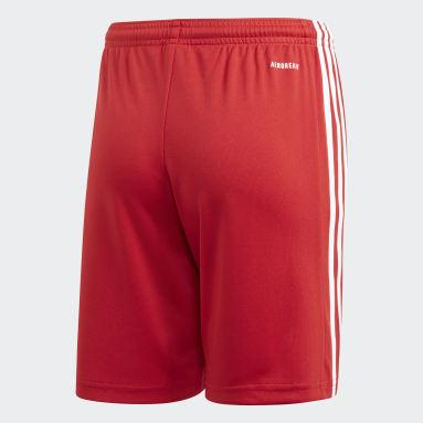 Pantalón corto Squadra 21 Rojo Niño Fútbol