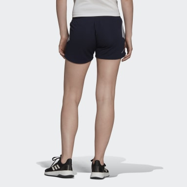 Women Training Designed to Move Knit 3-Stripes Sport Shorts