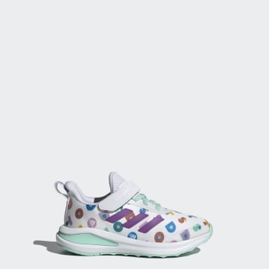 Children Running White adidas FortaRun x LEGO® DOTS™ Shoes