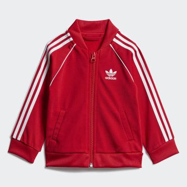 Infants Originals Red SST Track Suit