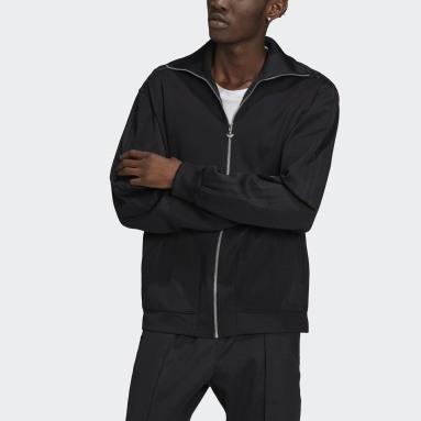 Men's Originals Black Adicolor Beckenbauer Track Jacket