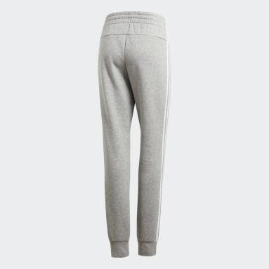 Pantalon Essentials3-Stripes Gris Femmes Sportswear