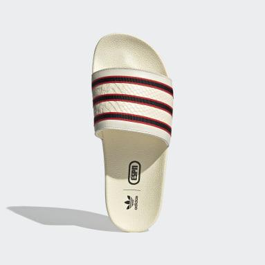 Originals White Adilette ESPN 1979 Slides