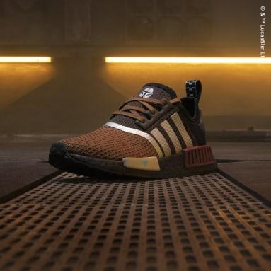 Kids Originals Brown Star Wars Mandalorian NMD_R1 Shoes