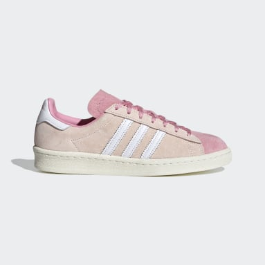 Women Originals Pink Campus 80s Shoes