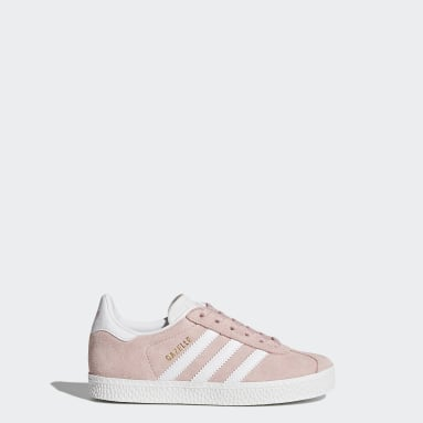 Girls Originals Pink Gazelle Shoes