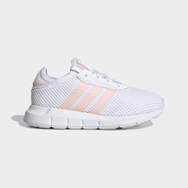 Children Originals White Swift Run X Shoes