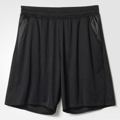 Men Football Black Referee 16 Shorts with Brief