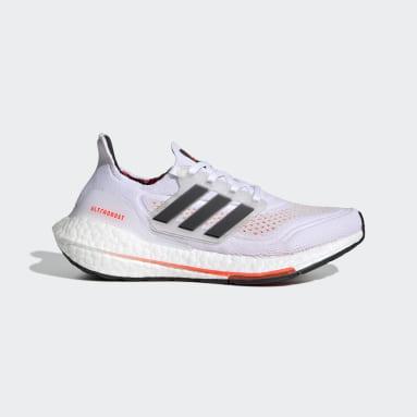 Børn Løb Hvid Ultraboost 21 Primeblue Boost løbesko