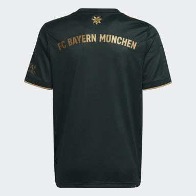 Kinder Fußball FC Bayern München 21/22 Wiesn Fußballtrikot Grün
