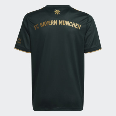 Kinderen Voetbal Groen FC Bayern München 21/22 Wiesn Voetbalshirt