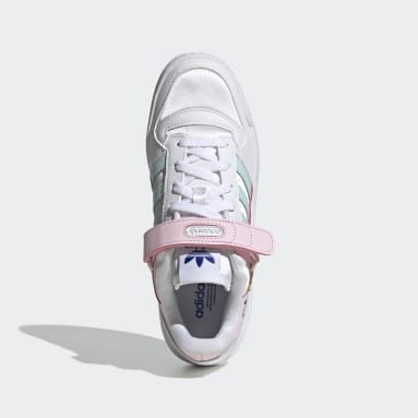 Chaussure Forum Low Blanc Femmes Originals