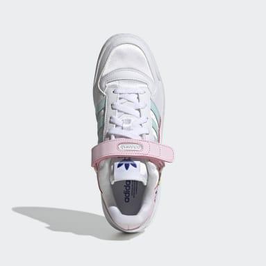 Frauen Originals Forum Low Schuh Weiß