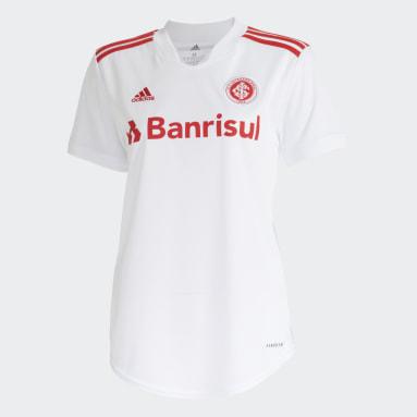 Camisa 2 Internacional 21/22 Branco Mulher Futebol