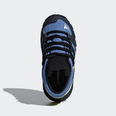 Kids TERREX Blue Terrex Mid GTX Shoes