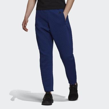 Pantalon adidas Z.N.E. Sportswear Bleu Femmes Sportswear