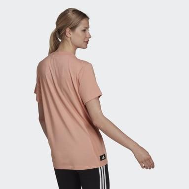 T-shirt adidas Sportswear Future Icons Logo Graphic Rose Femmes Sportswear