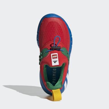 Tenis adidas RapidaZen x LEGO® Rojo Niño Training