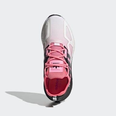 Women Originals Red ZX 2K Boost Shoes