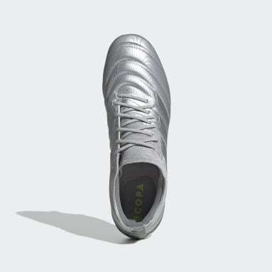 Chaussure Copa 20.1 Terrain gras Argent Femmes Football