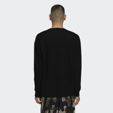 Sweat-shirt Y-3 Classic Merino Blend Knit Crew Noir Hommes Y-3