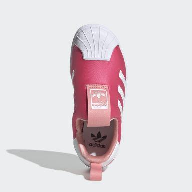 Kids Originals Pink Superstar 360 Shoes