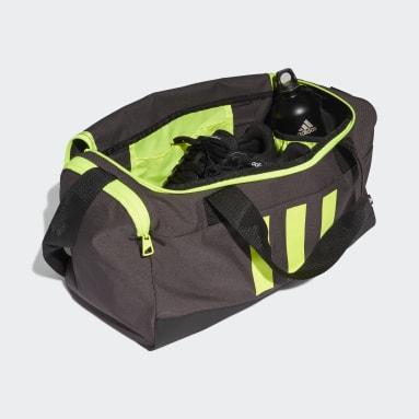 Volleyboll Grå Essentials 3-Stripes Duffel Bag Small