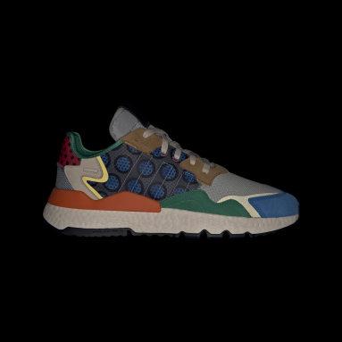 Men Originals Brown Nite Jogger Shoes