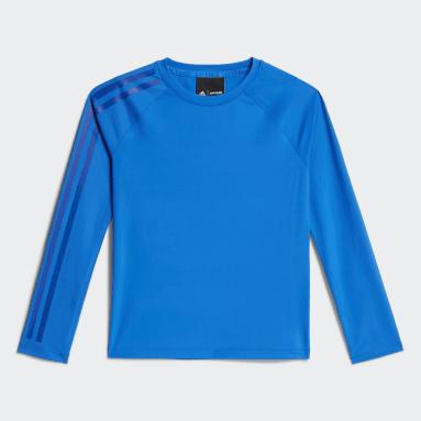 Kids Originals Blue Baselayer Long-Sleeve Top