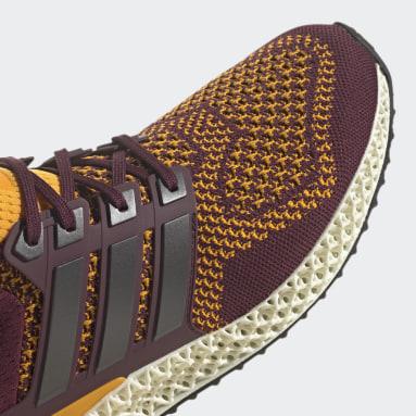 Men Running Burgundy Ultra 4D Shoes