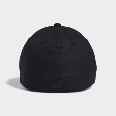 Men's Training Black Stadium Stretch Fit Hat
