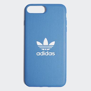 Custodia Basic Logo iPhone 8+ Blu Originals