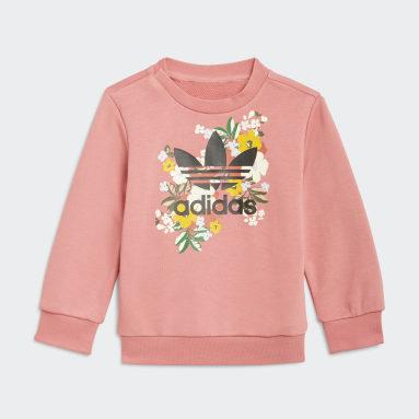 Infant & Toddler Originals Pink HER Studio London Floral Crew Set
