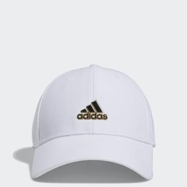 Men's Training White Stadium Stretch Fit Hat
