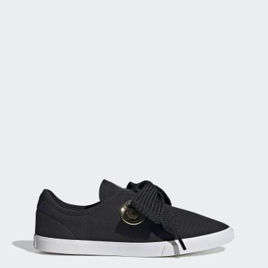ผู้หญิง Originals สีดำ รองเท้า adidas Sleek Lo