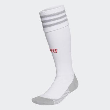 Football White Spain Away Socks