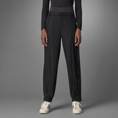 Ženy Originals černá Sportovní kalhoty Blue Version Wool Adibreak
