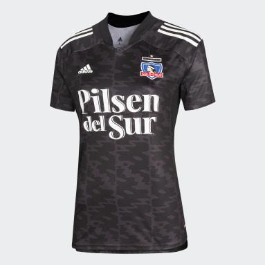 Camiseta Visitante Club Colo-Colo Negro Mujer Fútbol