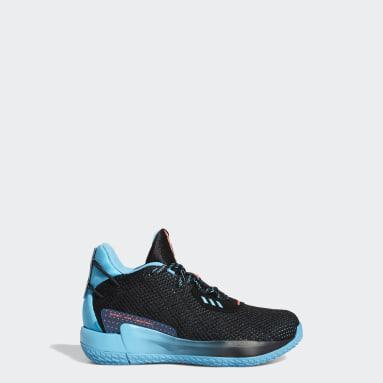 Children Basketball Black Dame 7 Visionary Shoes