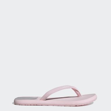 розовый Сланцы Eezay