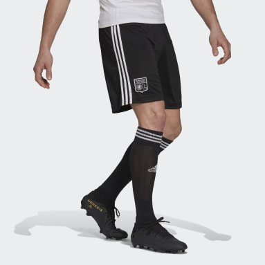 Fotbal černá Šortky Olympique Lyonnais 21/22 Third