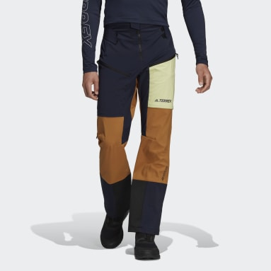 Pantaloni da sci alpinismo Terrex Skyclimb Tour Gore Soft Shell Blu Uomo TERREX