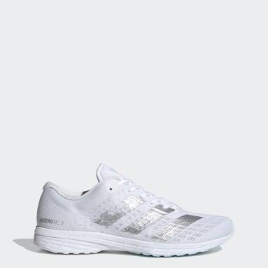 Women's Running White Adizero RC 2.0 Shoes