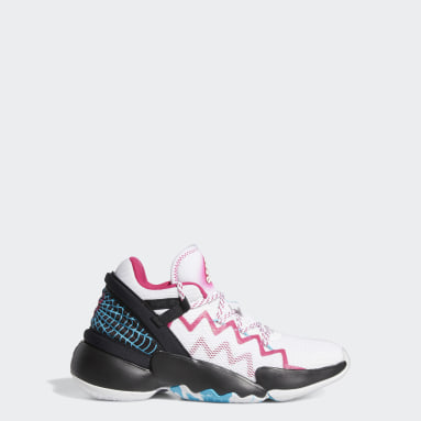 Chaussure D.O.N. Issue #2 blanc Adolescents Basketball