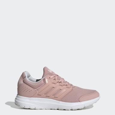 Women Running Pink Galaxy 4 Shoes